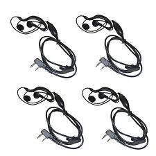 4x Hands Free Headset for Retevis H-777 RT-5R RT-B6 Radio Devices