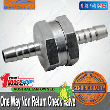 "10mm 3/8"" Aluminium Alloy One Way Check Non-Return Valve Petrol Diesel Water Oil"