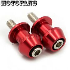 8mm Red Swingarm Spools Slider Screws for Ducati Honda CBR 600RR ABS 929RR 954RR