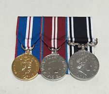 Golden & Diamond Jubilee Medals,  Prison Service LSGC, Mounted Full Size Medals