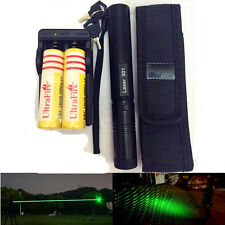 10 Miles Military Green 1mW 532NM Laser Pen Light Pointer Beam Zoom Burning Key