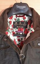 BARBOUR Liberty Rose Utility wax cotton waxed jacket, size Ladies UK10 girls xxl