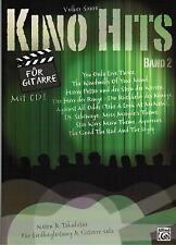 Gitarre Noten : KINO HITS 2  mit CD - (Noten & Tabulatur) Sologitarre u Liedbegl