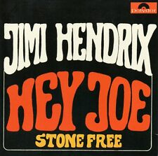 ★☆★ CD Single Jimi HENDRIX Hey Joe 2-track CARD SLEEVE  Stone Free ★☆★
