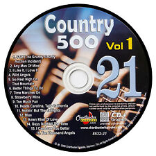 KARAOKE CHARTBUSTER CD+G COUNTRY 500 CB8532 VOL.1 DISC # 21