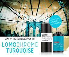NEW Lomography LomoChrome Turquoise XR 100-400 ISO 120 Color Negative Film