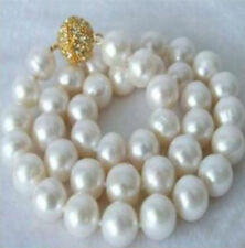 """Huge 14mm South Sea White Shell pearl necklace 18"""" AAA+"""