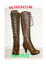 Black Butler Alois Trancy anime party boots Cosplay Shoes S008