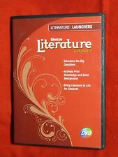 LN McGraw Hill GLENCOE Literature Launchers DVDs See BACK COVER PHOTO for detail