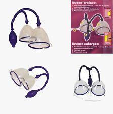 Vakuum Busen Saugschalen zur Brustvergrößerung NEU 2er-Pack zum Umschnallen
