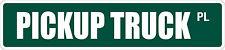 """*Aluminum* Pickup Truck 4"""" x 18"""" Metal Novelty Street Sign  SS 2889"""