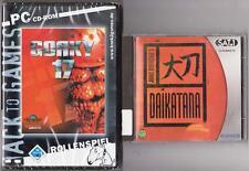 JOHN ROMERO´S DAIKATANA + Gorky 17 Sammlung PC Spiele