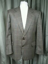 Aquascutum 100% Pure New Wool Country Hunting Riding Check Sports Jacket 42S