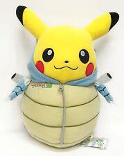 Banpresto Pokemon Pikachu Sleep Series 12'' Deluxe Plush~ Blastoise Suit BP36762