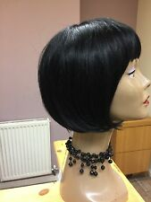 Real Ladys 100% Human Hair Wigs~ Ladies Wig  Bob  Colour 1 Black