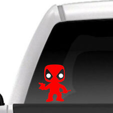 Funko Style Mini Deadpool - Vinyl Decal, Marvel, Comic, Toys, Figures, Car