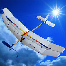 Glider Rubber Band Elastic Powered Flying Plane Airplane Fun Model Kids Toy