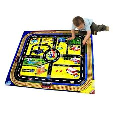 GIANT CITY PLAYMAT ROAD TRAIN LAYOUT MAT BOY TOY XMAS CHRISTMAS STOCKING FILLER