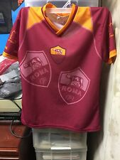 SOCCER JERSEY  TOTTI JERSEY YOUTH ITALIAN SIZE 10A SIGNED AUTHENTIC PROOF