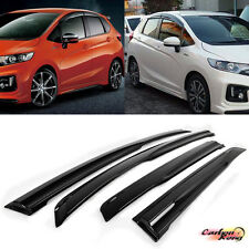 HONDA FIT 3rd JAZZ MUGEN JDM 4PC Window Visor Sun Rain 14up