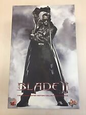 Hot Toys MMS 113 Blade II Wesley Snipes Vampire Hunter 12 inch Figure NEW