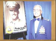 Col. Charles Mcgee Tuskegee Airmen Autographed 8x10 Picture Autograph Red Tails