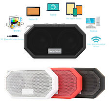 Portable Mini Wireless Bluetooth Stereo Super Bass Speaker For iPhone Tablet PC