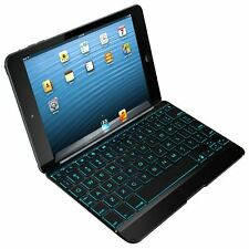 ZAGG Cover Case With Backlit Bluetooth Keyboard for Apple iPad Mini