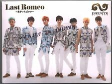 Infinite: Last Romeo (2014) Korea Japan / CD & DVD TAIWAN