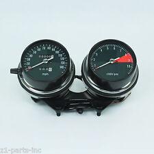 Honda CB750 CB550 Gauges #801 Speedometer & Tachometer w/ Bracket Complete