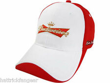 CHASE AUTHENTICS NASCAR BUDWEISER ADJUSTABLE PITCAP HAT/CAP - KEVIN HARVICK #4