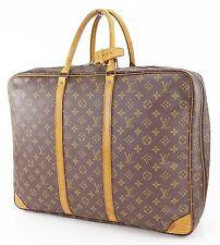 Authentic LOUIS VUITTON Sirius 50 Monogram Suitcase Travel Business Bag #23481