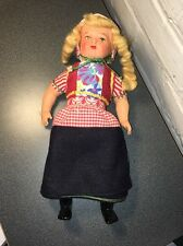VINTAGE GERMAN DOLL COMPOSITION FACE, ARMS AND LEGS 1950'S VERY NICE!!