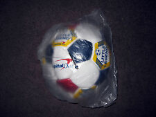 CAPITAL ONE LITTLE LEGEND FOOTBALL SIZE 4 RED/WHITE/BLUE + INFLATE PIN XMAS GIFT