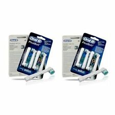 8 Oral B Heads - Braun Oral-B FlexiSoft Toothbrush Replacement Heads EB17-4