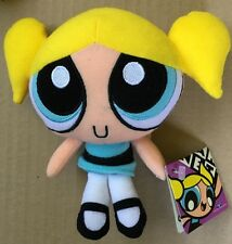 """POWERPUFF GIRLS 6"""" TRENDMASTERS PLUSH BUBBLES WITH TAG NM COND 2001 HTF"""
