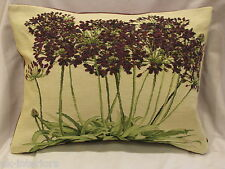 """14""""x19"""" AGAPANTHUS Flower French Woven Tapestry Cushion Limited Edition"""