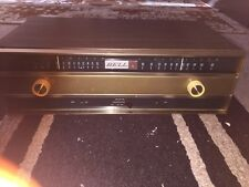 Vintage Bell 2421 Ac Operated 9 Tube Am/fm Tuner Restored Ex Condition