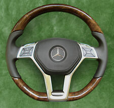 AMG-Package ◆ Mercedes-Benz ◆ Steering wheel ◆ Wood / Leather ◆ Leather Airbag