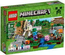 LEGO Minecraft - 21123 The Irongolem / Der Eisengolem - Neu & OVP (Lagerschaden)