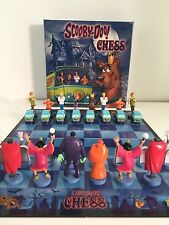 Scooby Doo Chess Set (6) game lots.  Rare, New, & Sealed!