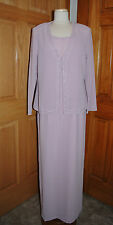 NIGHT SCENE ET1039 MOTHER/GRANDMOTHER BRIDE/GROOM MOB DRESS SIZE XL DUSTY ROSE