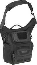 "Maxpedition WLFBLK WolfSpur Crossbody Shoulder Bag 11""L x 7""W x 13""H Black"