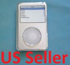 NEW Clear plastic case for Apple ipod Classic 160GB 120GB w/ Screen Protector