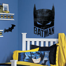 BATMAN MASK GIANT WALL DECALS Bat Man Stickers DC Comics Bedroom Decorations