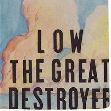 Low THE GREAT DESTROYER +MP3s Sup Pop Records NEW SEALED VINYL 2 LP