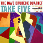 Dave Brubeck TAKE FIVE Time Out / Brubeck Time / Plays Brubeck DIGIPAK New 3 CD