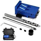 Mini Kreg Style Pocket Hole Jig Kit W/ Step Drilling Bit Woodworking Accessories