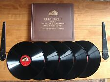 "BOOK SET 5 12"" 78s HMV D.B.1223-7 Beethoven ""Trio No.7 in B flat major Op.97"""