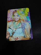 SNSD GIRLS GENERATION HYOYEON HAIR COUTURE OFFICIAL PHOTOCARD